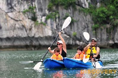 $65 - Kayaking Halong Bay Day Tour