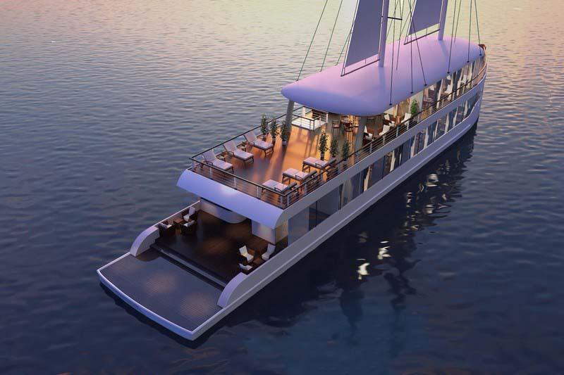 Luxury Jade Sails Lan Ha Bay