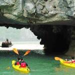 Cruise and Kayaking Halong bay 1 day