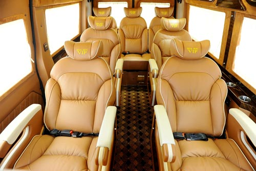 Ford Transit Limousine From a Ford Transit Van to