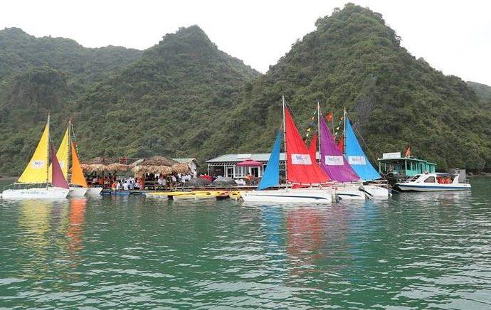 yacht sailing tour halong
